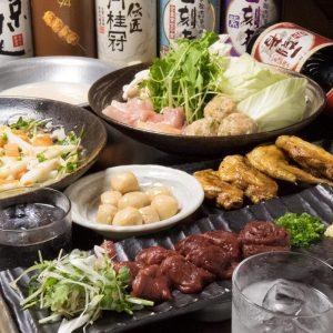 関内でコスパ抜群の鶏料理が楽しめる居酒屋[とりいちず]の飲み放題付き忘年会コース☆