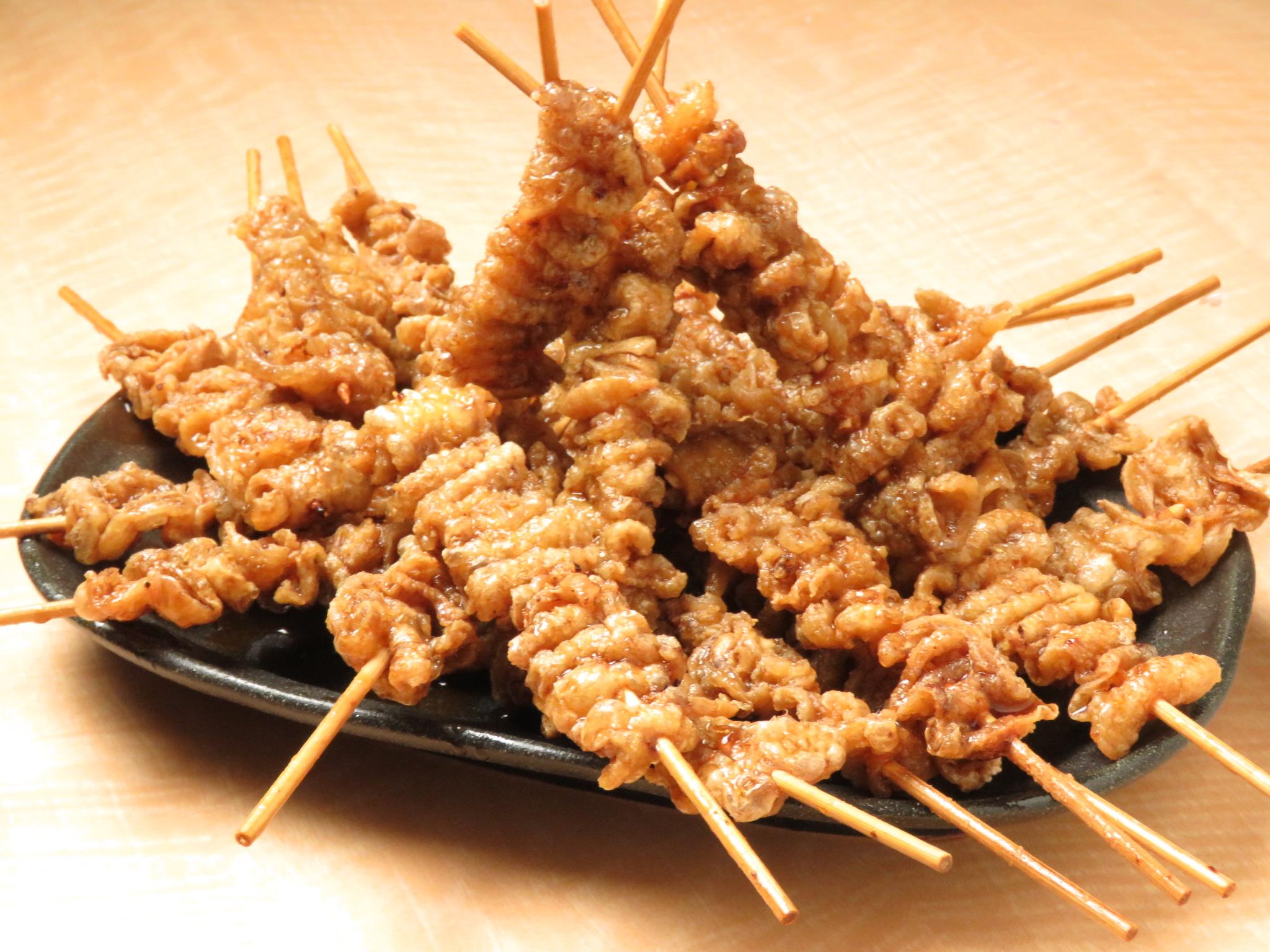 関内の鶏料理専門店[とりいちず]の絶品とり皮